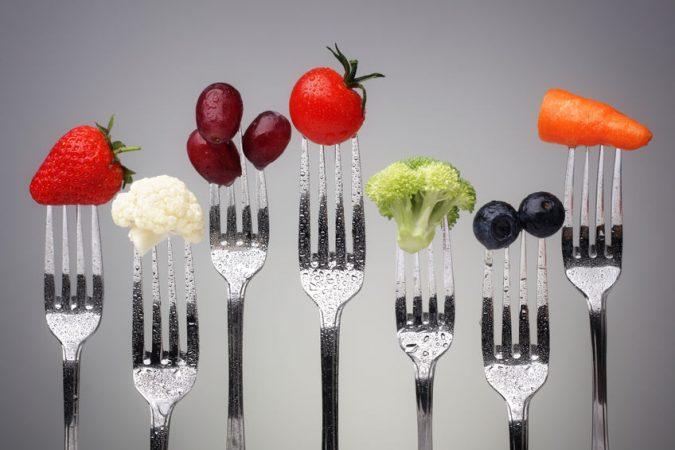 El cáliz de la juventud con alimentos antiaging