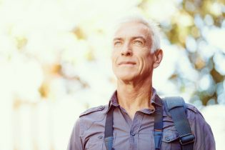 40882971 - portrait of handsome man outdoors