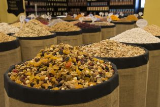 60660379 - dried fruits store